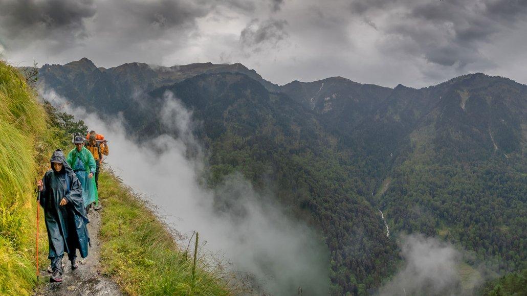 A Walk Through the Clouds: Dodital Lake Trek