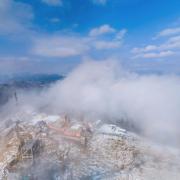 360 Virtual Tour: Surkanda Devi Temple Covered in Snow